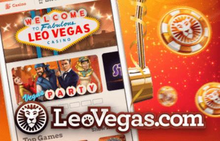 レオベガスカジノの画像